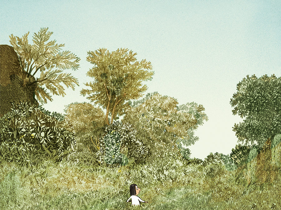 A la recerca del camp perdut – Ara – «Los Grandes Espacios», de Catherine Meurisse