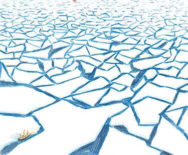 Presentación de «El viaje de Shackleton», en La Impossible